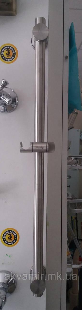 Стойка душевая Imperial 301 нерж. сталь без лейки и шланга