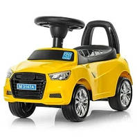 Дитяча каталка-толокар Bambi Audi M 3147A-6, жовта