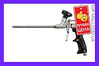 Пистолет для пены Topex - с тефлоновым покрытием держатель баллона (черная ручка) артикул-21B504