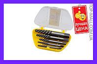 Набор экстракторов для винтов Topex - 5 шт. (3,3-19 мм) (АРТИКУЛ 14A110)