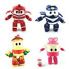 Игровой набор Роботы Поезда (Кей Альф Дак Селли) Игрушки Robot Trains Transforming  , фото 2