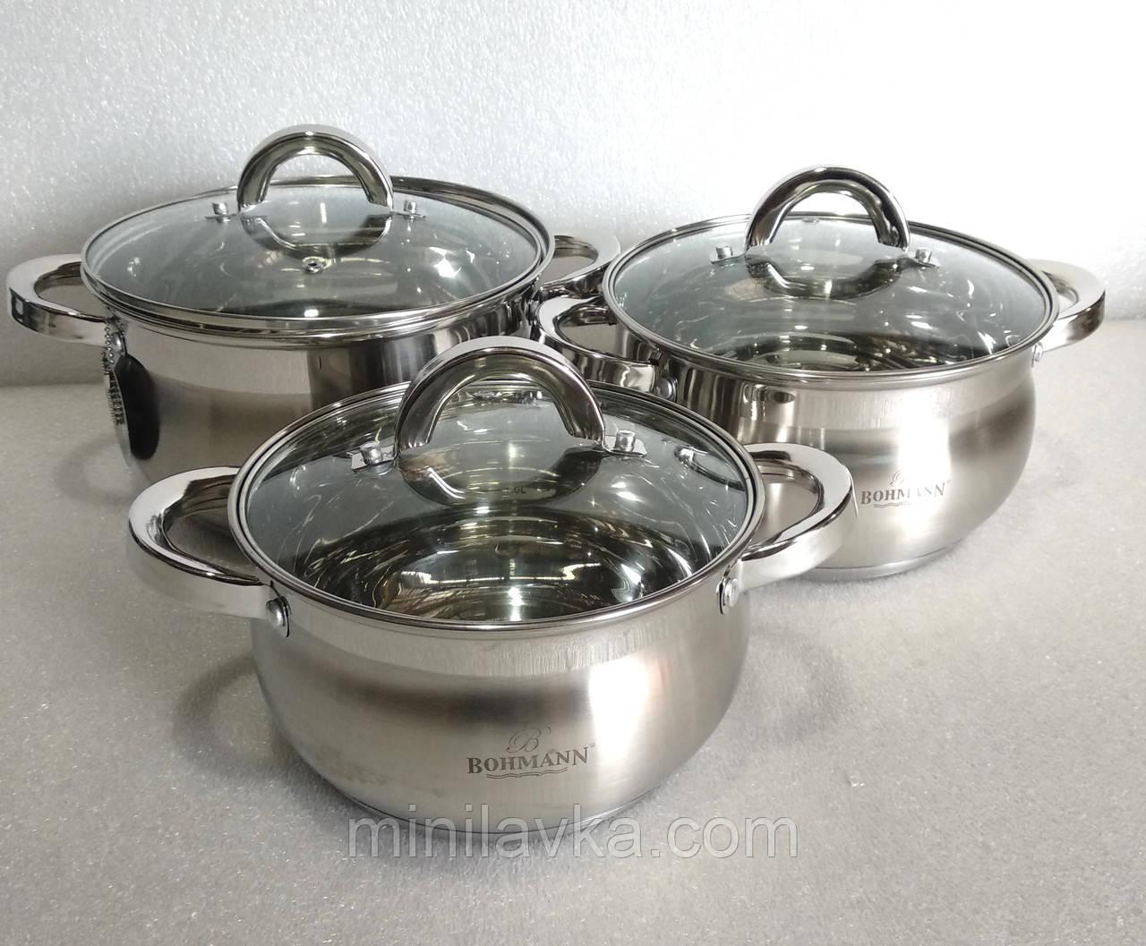Набор посуды Bohmann BH-400 6 предметов