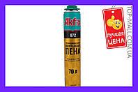 Пена Akfix - профи (872) SUPER MEGA 850 мл (70 л)| артикул FA018