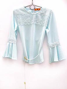 Нарядная блуза для девочки, размеры 6, 7, 8, 9, 10 лет
