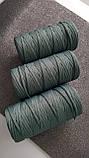 Полиэфирный шнур без сердечника 5мм #37 Шалфей, фото 2