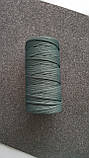 Полиэфирный шнур без сердечника 5мм #37 Шалфей, фото 3