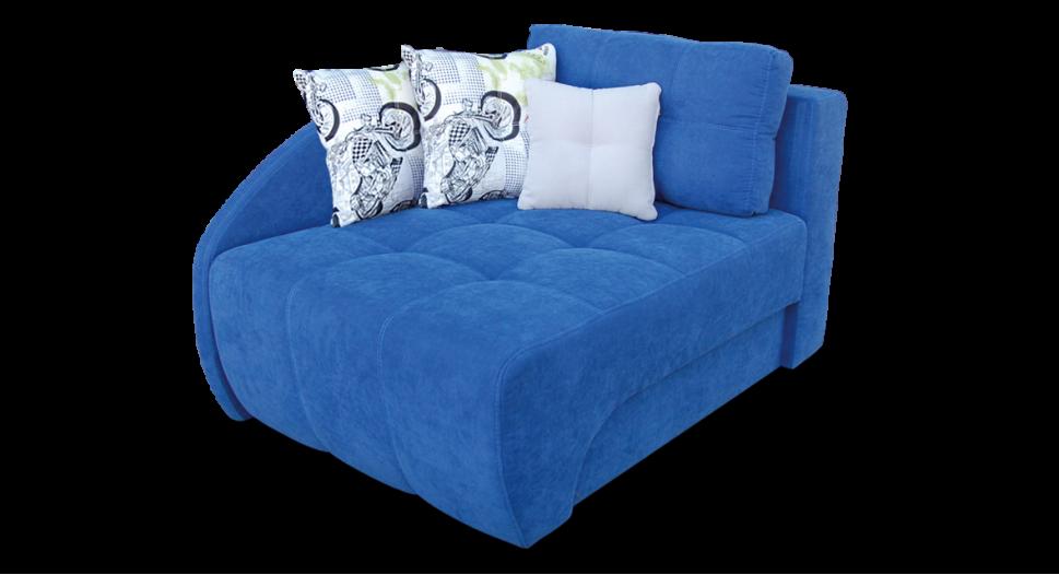 Детский синий диванчик Браво