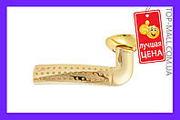 Ручка на розетке Sofia - AF1-R10 PB (золото)| артикул 15-27-008