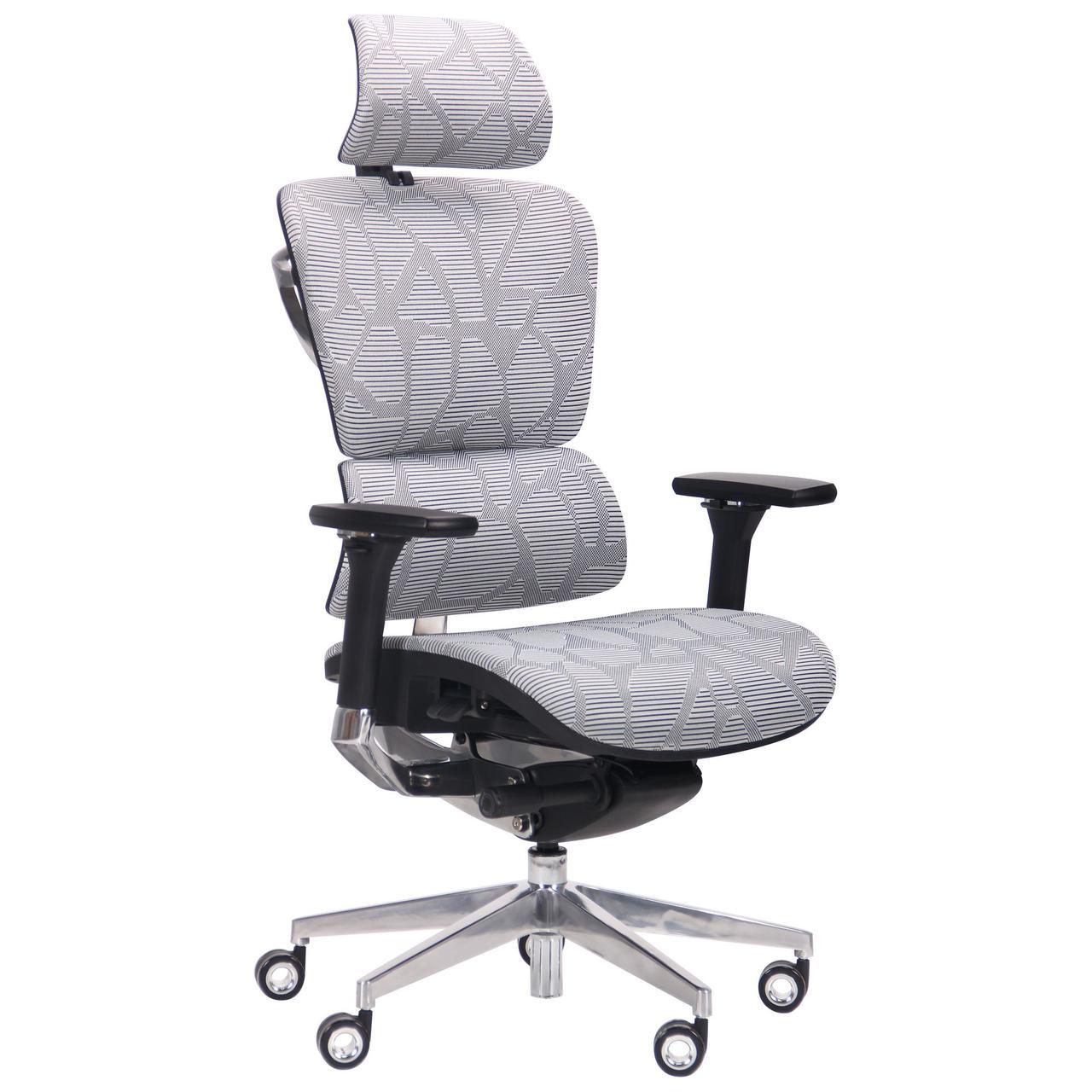 Кресло Crystal Alum, Grey mesh