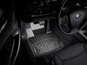 Ковры резиновые WeatherTech BMW X3 2010-2017 передние черные