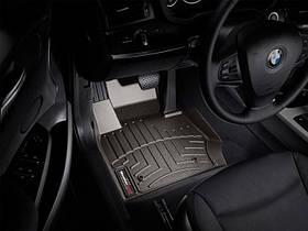 Ковры резиновые WeatherTech BMW X3 2010-2017 передние какао
