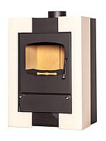 Отопительная печь-камин длительного горения FLAMINGO ESPO I (кремовый), фото 1