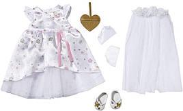Платье невесты куклы Беби Борн Baby Born с аксессуарами Zapf Creation 827161