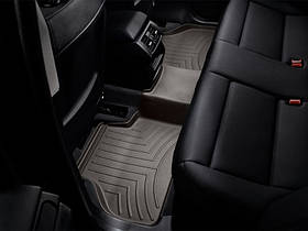 Ковры резиновые WeatherTech BMW X3 2010-2017 задний какао