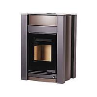 Отопительная печь-камин длительного горения AQUAFLAM VARIO KALMAR (коричневый бархат), фото 1