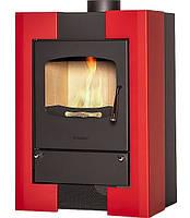 Отопительная печь-камин длительного горения FLAMINGO ESPO I (красный), фото 1