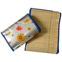 Пляжный соломенный коврик 90*170 см, фото 1