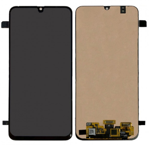 Дисплей для Samsung M305 Galaxy M30 (2019) модуль в сборе с тачскрином, черный, Original (PRC)