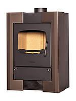 Отопительная печь-камин длительного горения FLAMINGO ESPO I (коричневый бархат), фото 1