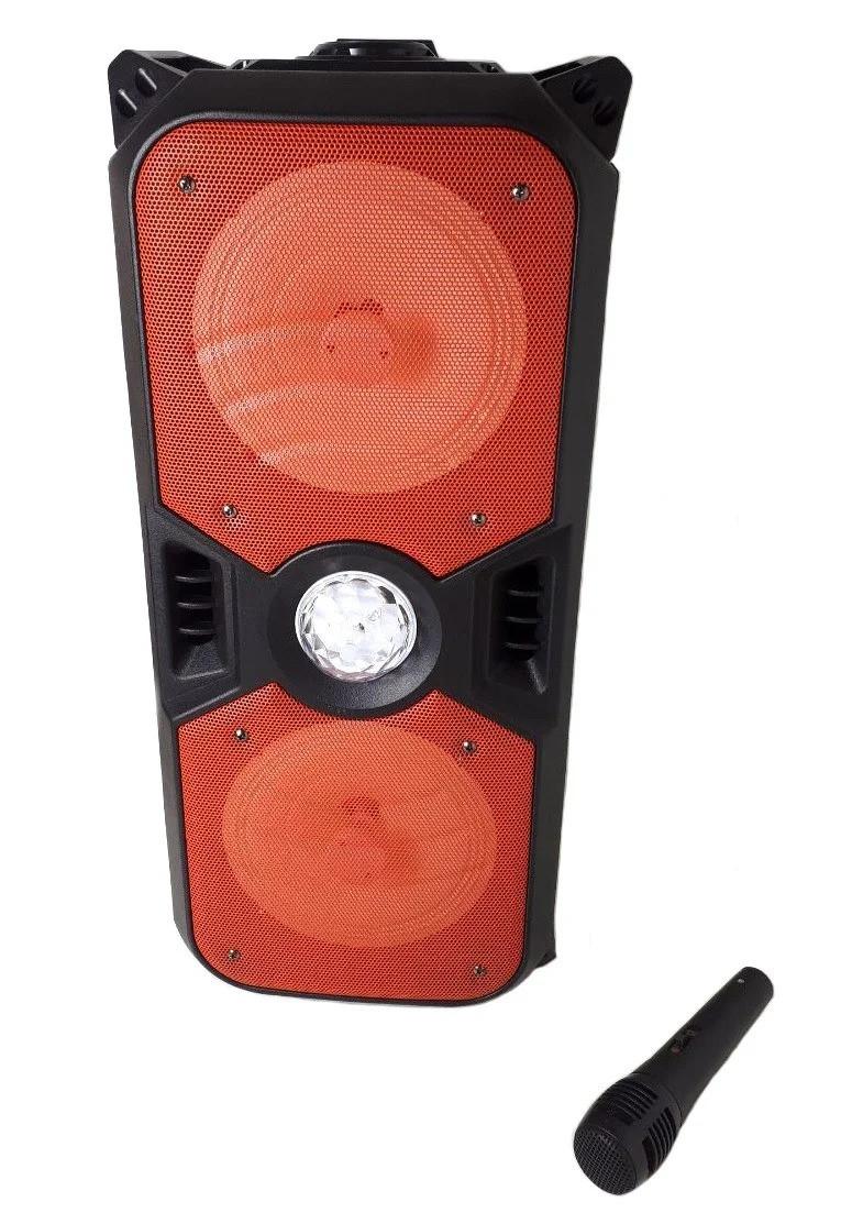 Портативная Bluetooth колонка KTS-1042 с микрофоном, красная