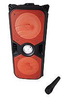 Портативная Bluetooth колонка KTS-1042 с микрофоном, красная, фото 1