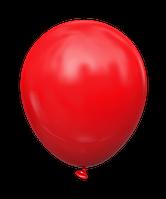 """Латексный шар без рисунка Kalisan Пастель Красный 12"""" 30 см"""