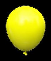 """Латексный шар без рисунка Kalisan Пастель Желтый 12"""" 30 см"""