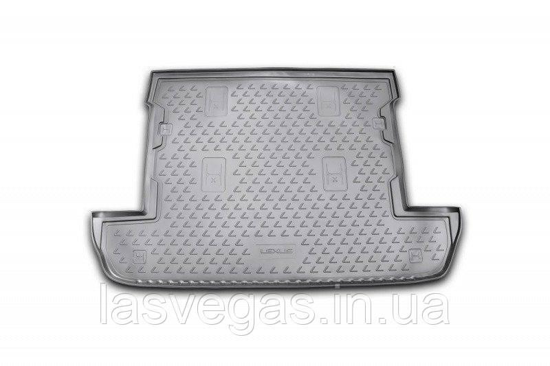 Коврик в багажник  LEXUS LX 570 2007-2012 2012- внед. 7 мест кор. (полиуретан)