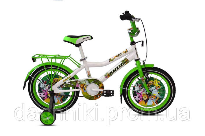"""Детский велосипед ARDIS THOMAS 16"""" Белый/Зеленый, фото 2"""