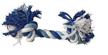 Игрушка для собак канат грейфер с узлами 20 см Croci синий