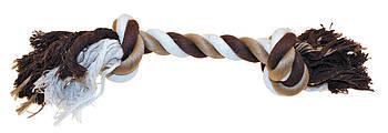 Игрушка для собак канат грейфер с узлами 45 см Croci золотистый