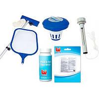 Набор для чистки бассейнов - щетка для чистки бассейна BestWay 58195
