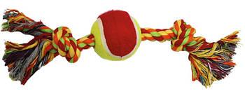 Игрушка для собак канат грейфер с теннисным мячом 30,5*6 см Croci