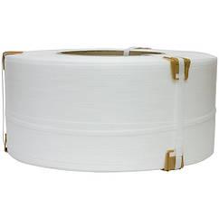 Лента полипропиленовая (12 x 0,6 мм x 2,5 км/боб) белая