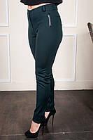 Женские брюки Аманда зеленые