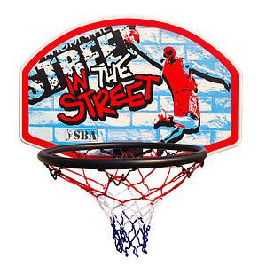 Щит баскетбольный настенный детский SBA S881RB