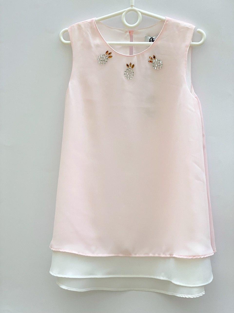 Нарядна блузка для дівчинки, розміри 6, 7, 8, 9, 10, 11 років