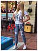 Костюм (Фабричный Китай). Джинсы +футболка.(11109), фото 4