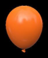 """Латексный шар без рисунка Kalisan Пастель Оранжевый 12"""" 30 см"""