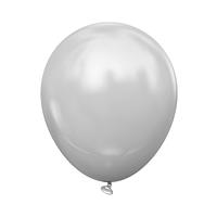 """Латексный шар без рисунка Kalisan Пастель Серый 12"""" 30 см"""