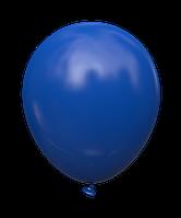"""Латексный шар без рисунка Kalisan Пастель Темный-синий 12"""" 30 см"""