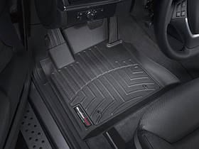 Килими гумові WeatherTech BMW X5 2007-2013 передні чорні