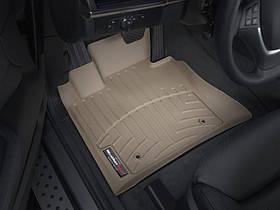 Килими гумові WeatherTech BMW X5 2007-2013 передні бежеві