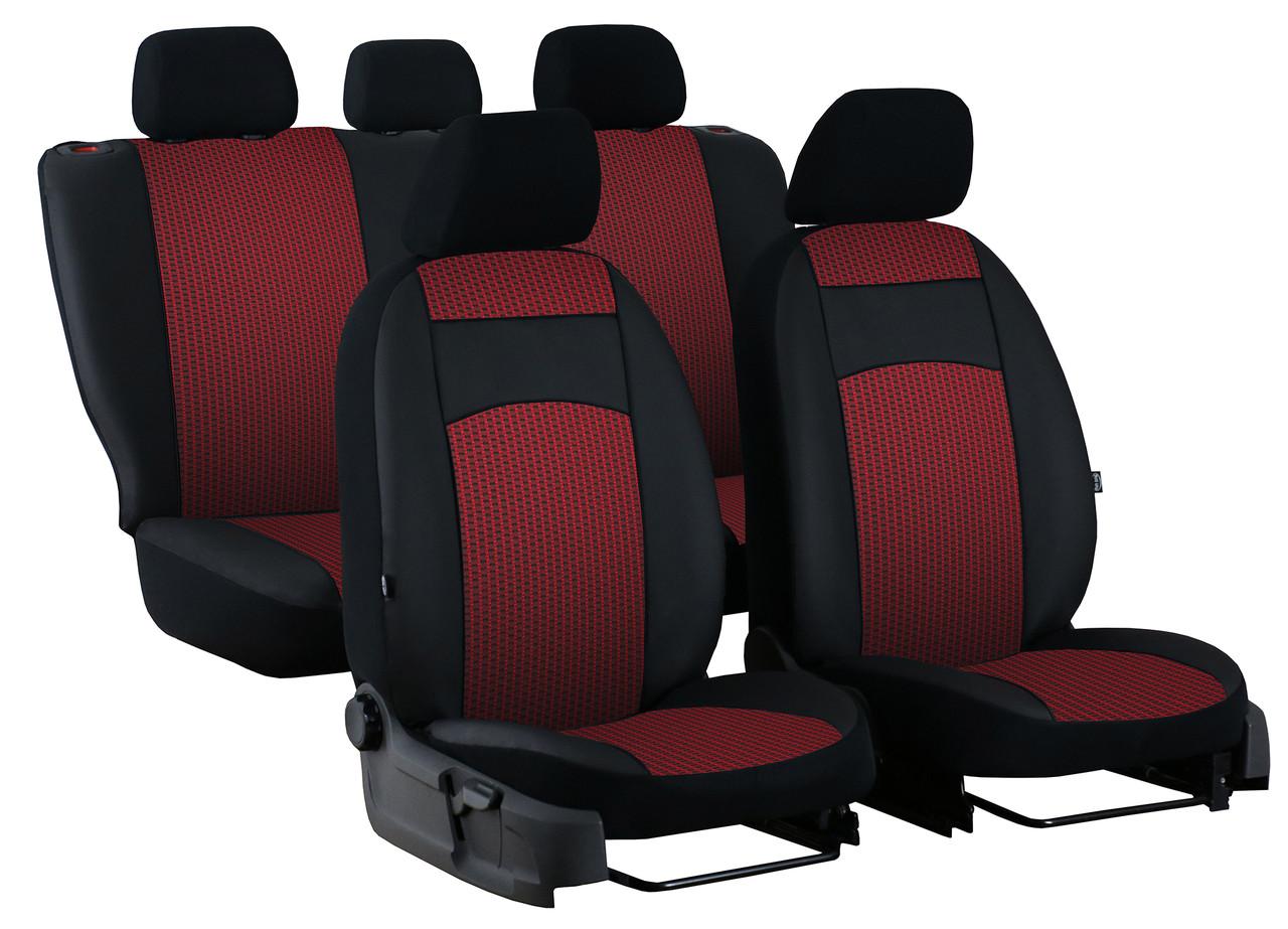 Авточехлы универсальные (полный набор) Pok-ter Royal 6 EX