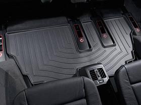 Килими гумові WeatherTech BMW X5 2007-2013 третій ряд чорний