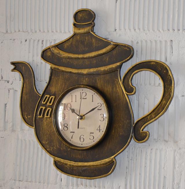 Настенные часы для кухни (фото)