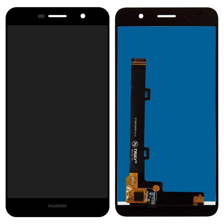 Дисплей (экран) для Huawei Y6 Pro (TIT-U02) с сенсором (тачскрином) черный Оригинал