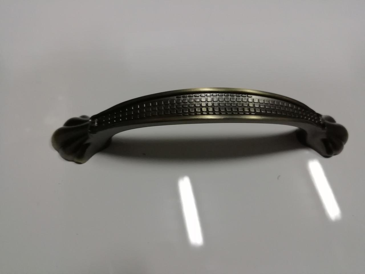 Ручка меблева скоба GIFF 8/176/96 антична бронза