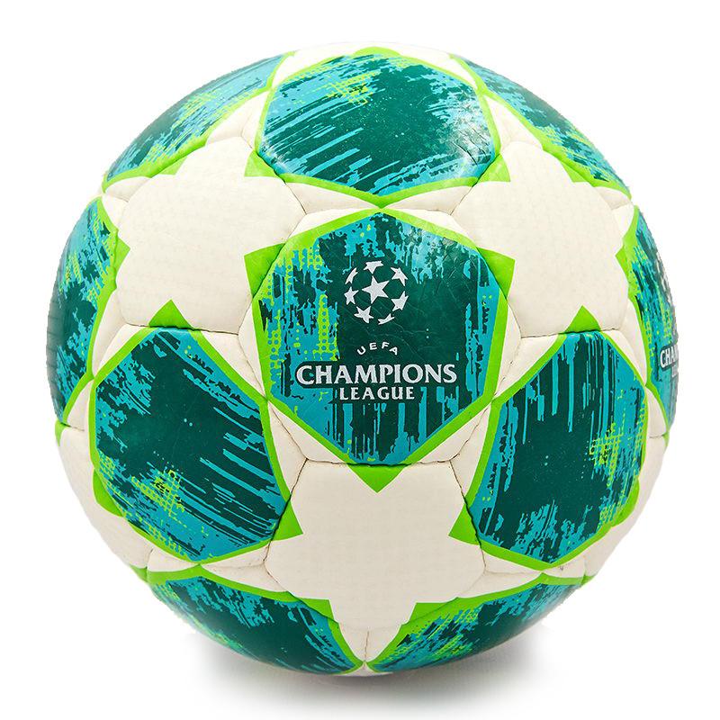 Футбольный мяч Лига Чемпионов Финал 2018 - 2019  размер 5, бело-зеленый