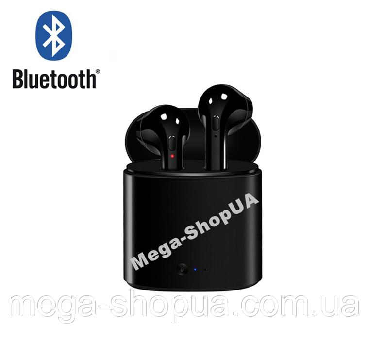 Беспроводные Bluetooth наушники i7S TWS. Бездротові навушники. Беспроводні блютуз блютус наушники